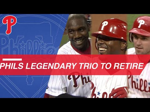 Phils To Honor Careers Of Howard, Rollins And Utley