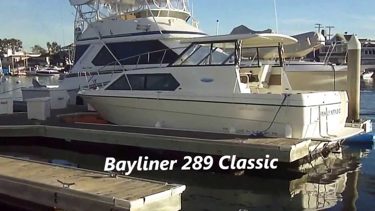 Bayliner Classic 28 Cruiser Walk Around by South Mountain Yachts