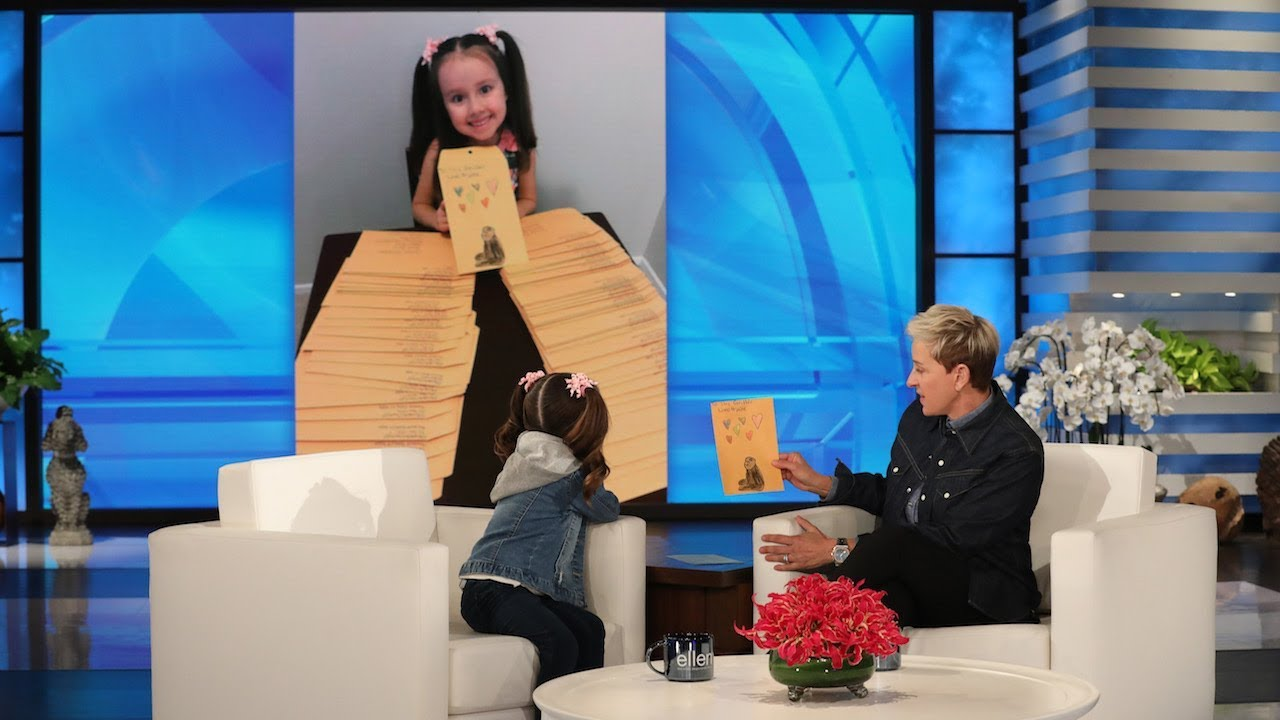 Brielle Is Back with a Special Gift for The Ellen Fund!