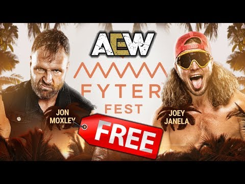 Watch AEW FYTER FEST PPV For FREE! (Anywhere In The World)