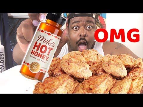 Mikes Hot Honey |Taste Test | Fried Chicken