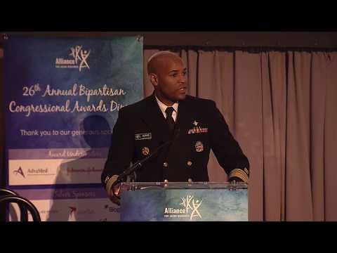 2019 Daniel Perry Founder's Award:  VADM Jerome M. Adams, M.D., M.P.H.
