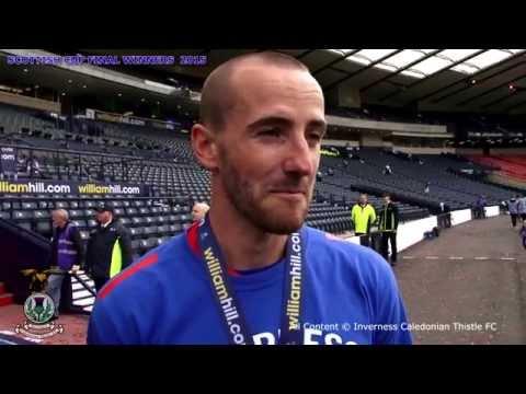 CaleyJagsTV :James Vincent Post Scottish Cup Final interview, 30/05/2015