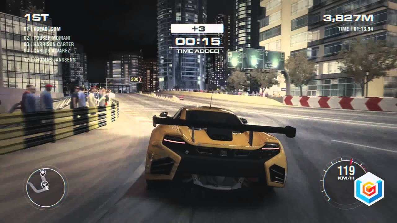 GRID 2 Picture: Checkpoint: McLaren MP4-12C GT3
