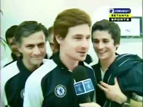 André Villas Boas and José Mourinho 2005