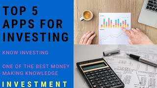 How To Invest   Top 5 investment apps   kis app se invest kare   invest   Tech X   Invest
