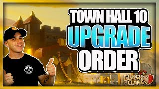 What should I Upgrade First? TH 10 Upgrade & Lab Guide   TH 9.5 Upgrade Priority   Clash of Clans