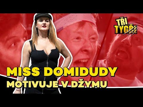 TŘI TYGŘI | Miss Domidudy motivuje v džymu from YouTube · Duration:  3 minutes 11 seconds