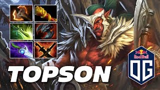 Topson Troll Warlord | EPIC ACTION | Dota 2 Pro Gameplay