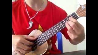 Hướng dẫn ukulele bèo dạt mây trôi phần 1