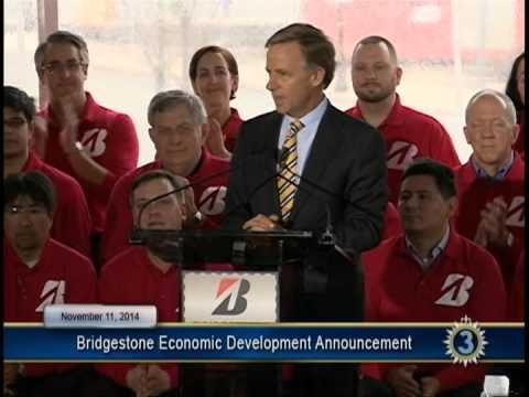 11/11/14 Bridgestone Economic Development Announcement