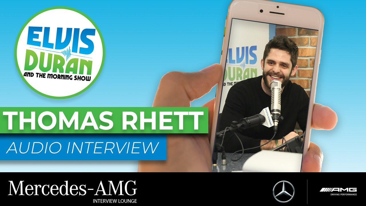 Thomas Rhett Says Sharing ACM Award With Carrie Underwood Is 'Absolutely Nuts' | Elvis Duran Show