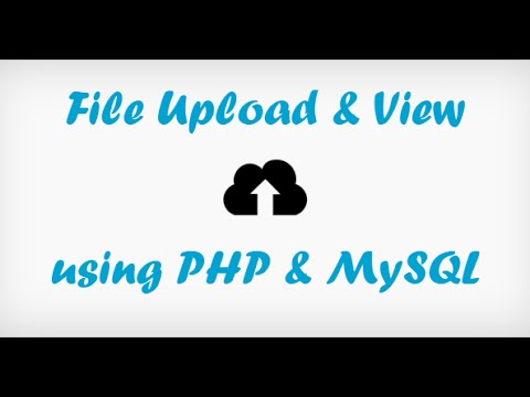 How To Upload And Display Image In Php
