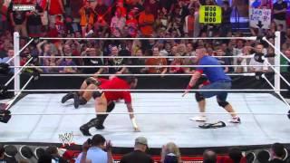 Raw: John Cena, Christian & Mark Henry vs. The Miz, Alberto
