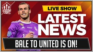Gareth BALE To MANCHESTER UNITED? MUFC Transfer News thumbnail