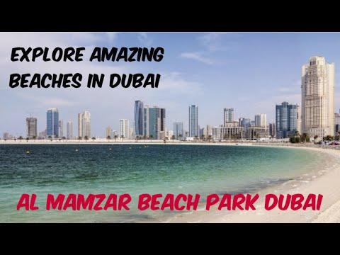 Amazing Dubai Beaches | AL Mamzar Beach Park | Dubai | 🏖️❤️😍