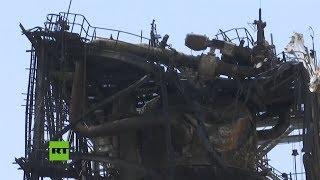 Daños en las instalaciones de la refinería saudita Aramco