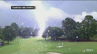 6 Gewonden na blikseminslag bij PGA Tour Atlanta 2019