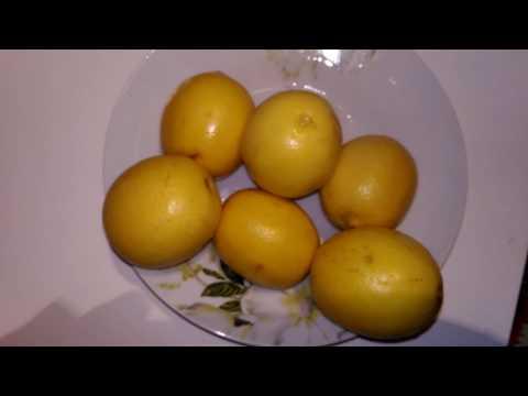 Как приготовить лимон с медом