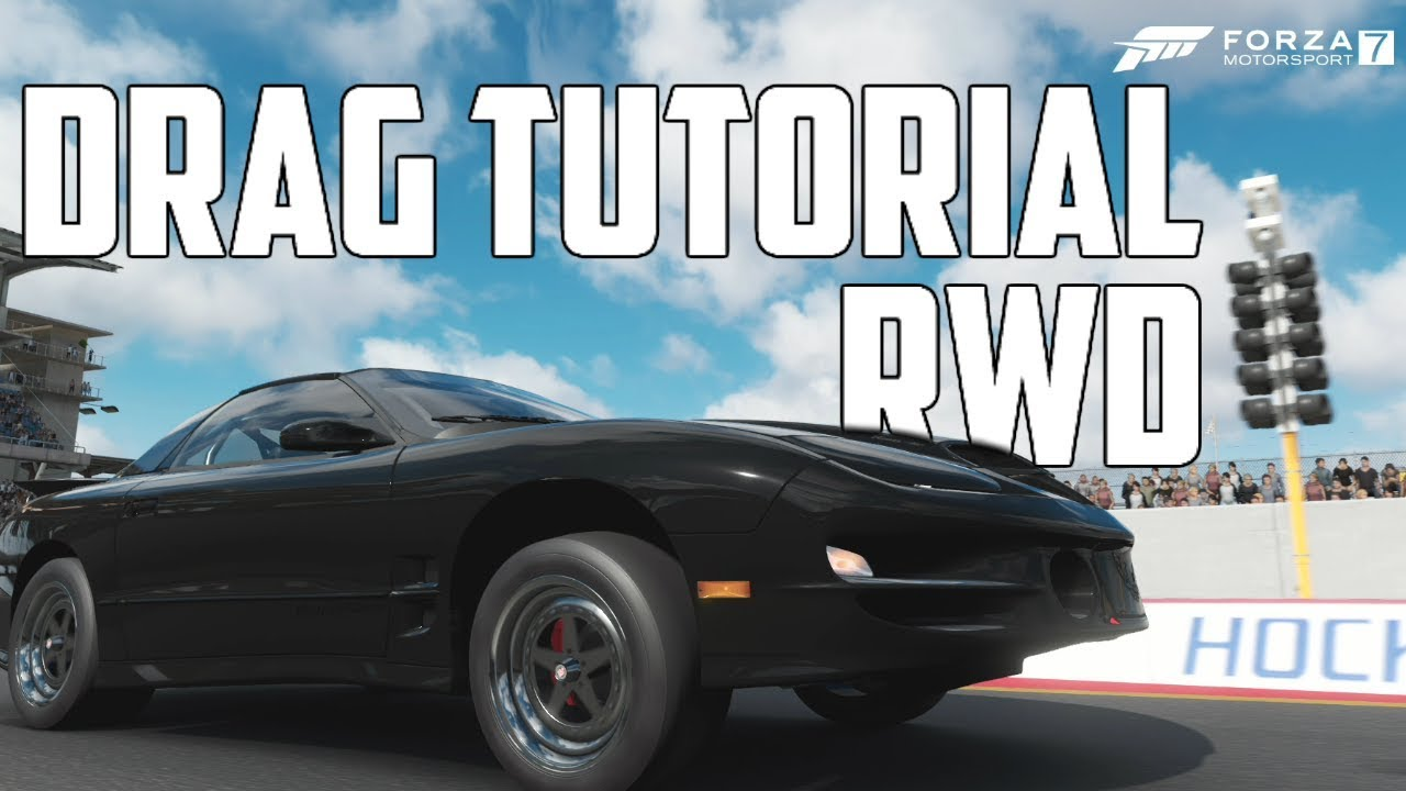 How To Build A Drag Car In Forza Motorsport 7 Rear Wheel Drive Youtube