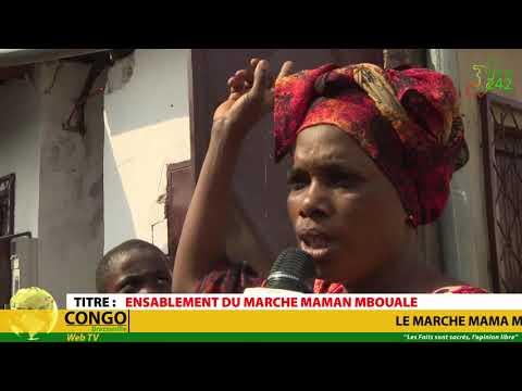 VÉRITÉ 242 CONGO Brazzaville,   Ensablement du marché maman Mboualé