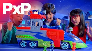 It's time to be a hero with these PJ Masks playsets and vehicles! | A Toy Insider Play by Play