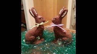 How to make a Solid Chocolate Easter Bunny