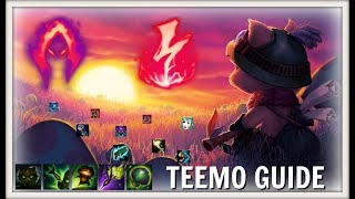 TOP, JUNGLE AND SUPPORT TEEMO GUIDE SEASON 8 - RUNES AND ITEMS