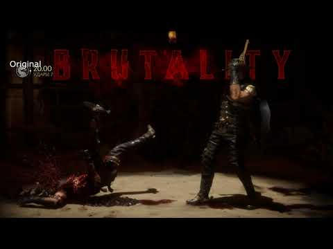 Mortal Kombat 11 Erron Black Секретное бруталити