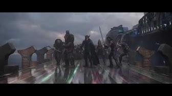 Thor Awakens His Power - Thor Ragnarok