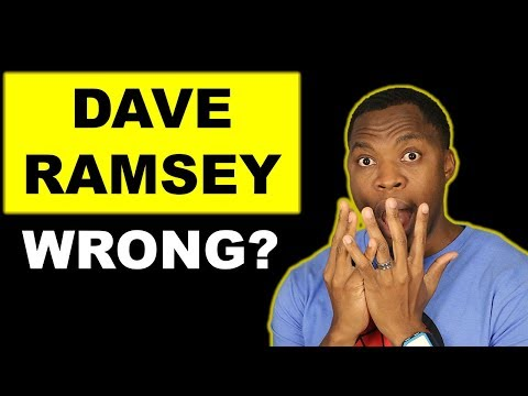 4 Reasons Why I Disagree With Dave Ramsey