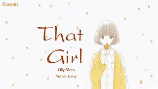 [Vietsub Kara] That Girl - Olly Murs (lyrics) - Tik Tok