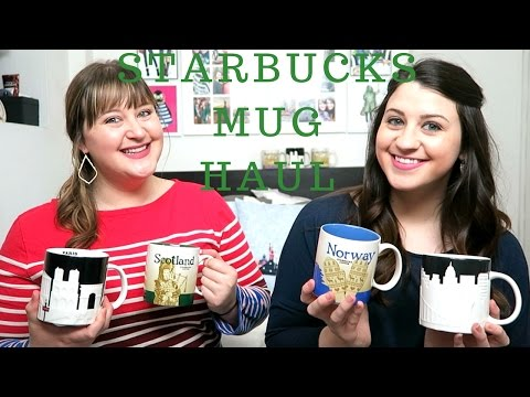 Starbucks City Mug Haul | As Told By
