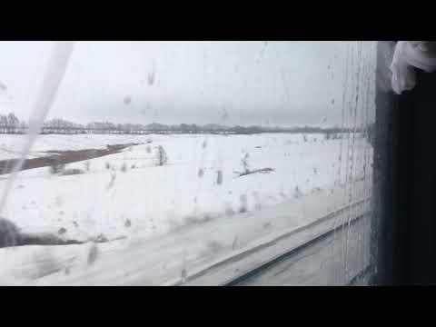 Тамбовская область из окна поезда Москва - Саратов