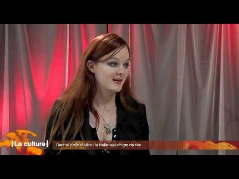 La Culture - Latele ch - Rachel Kolly d'Alba Interview. 03.10.2011