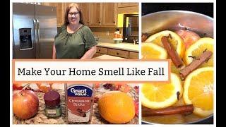 Make Your Home Smell Like Fall