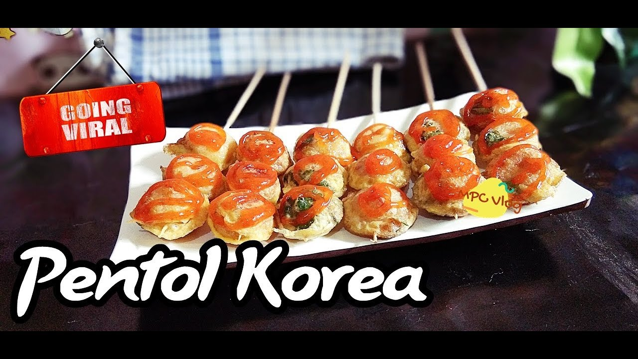 Viral Membahana Dijual 1000an Pentol Korea Ini Bikin Untung Banyak Youtube Ide Makanan Resep Masakan Korea Resep Masakan