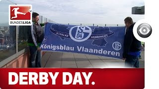 Painful Defeat - Derby Day for Schalke Fan Club From Belgium