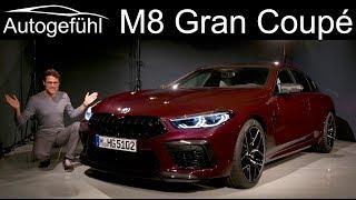 BMW M8 Gran Coupé Competition Premiere REVIEW Exterior Interior - Autogefühl