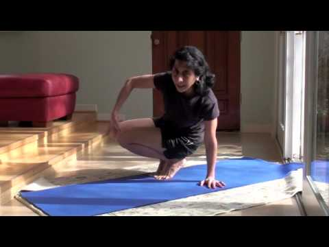 yoga parshva bakasana  side crow pose  youtube