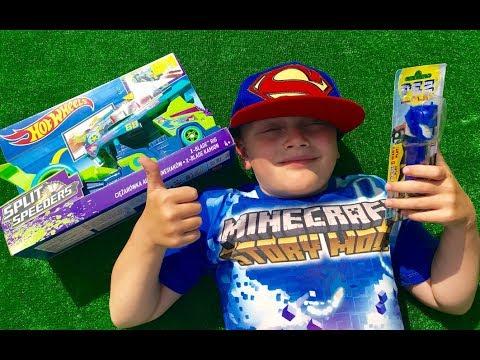 ТРАНСФОРМЕРЫ Автоботы Оптимус и Машинки Хот Вилс для мальчиков Transformers for kids Toys for boys