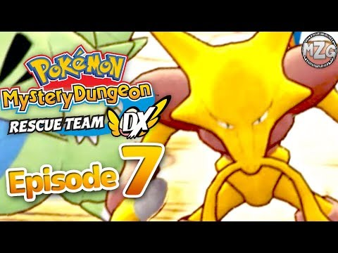 Pokemon Mystery Dungeon Rescue Team DX Gameplay Walkthrough Part 7 - Shiftry Kidnapped!