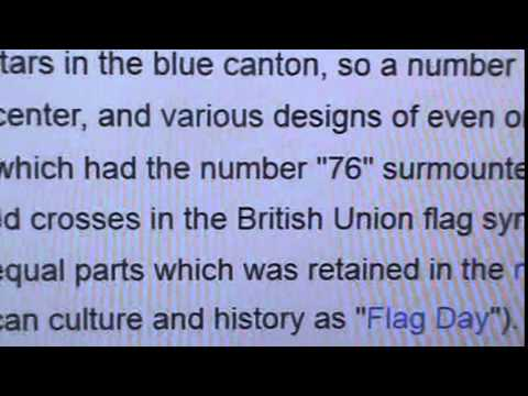 U.S., A COLONY OF U.K., ORIGINAL FLAG 2 PROVE IT, WAKE THE FCK UP!
