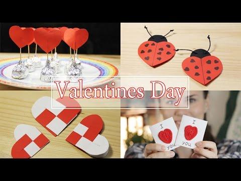 ПРОСТЫЕ ИДЕИ К ДНЮ СВЯТОГО ВАЛЕНТИНА 2016 | Valentines Day Gift Ideas  TonyaDIY