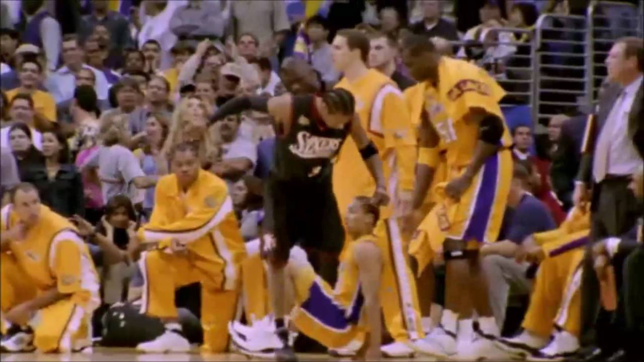 This Day in NBA History  Allen Iverson Steps Over Tyronn Lue in Game 1 of 2001  NBA Finals 026087816