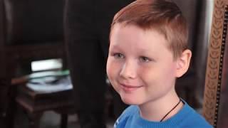 10-летний Матвей встретился с Николаем Дроздовым
