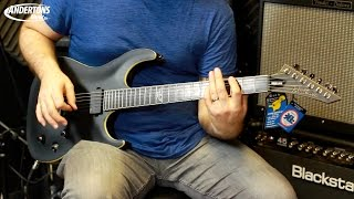 Washburn Parallaxe Guitar Preview
