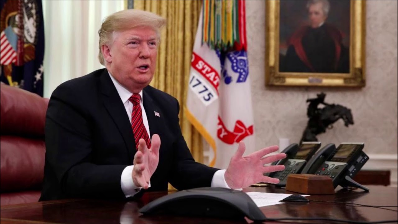 Trump To Democrats: Government Shutdown Will Last 'Until We Have A Wall'
