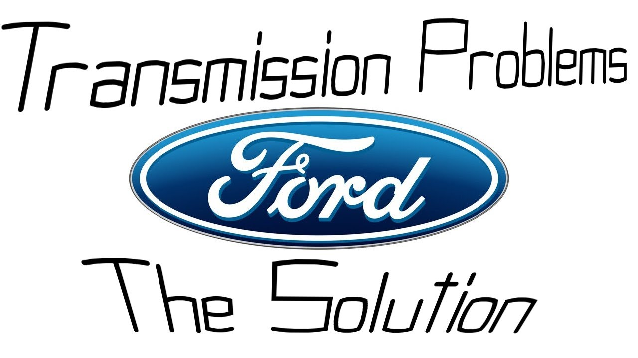 Ford transmission repair - Quick & easy fix - Shifting issue fix
