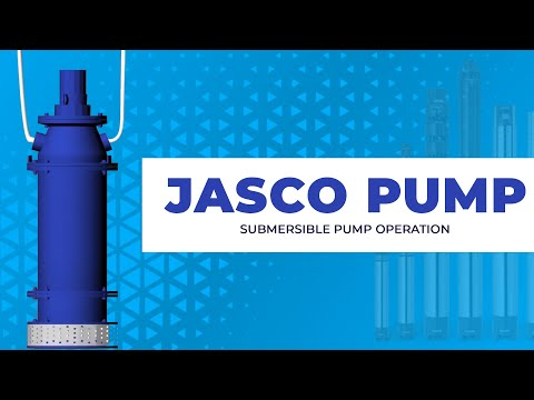 Submersible Pump Operating Animation